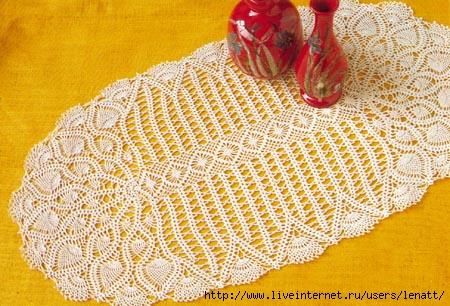Схемы салфеток (вязание