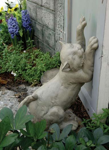 Из цемента скульптуры