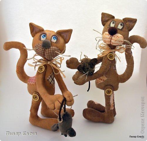 Котенок своими руками мастер класс