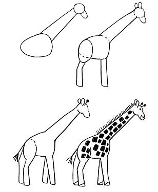 Эти уроки рисования для тех, кто только начинает учиться рисовать.  Все элементарно просто.