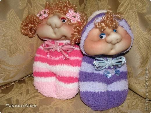 Кукла из носок мастер класс