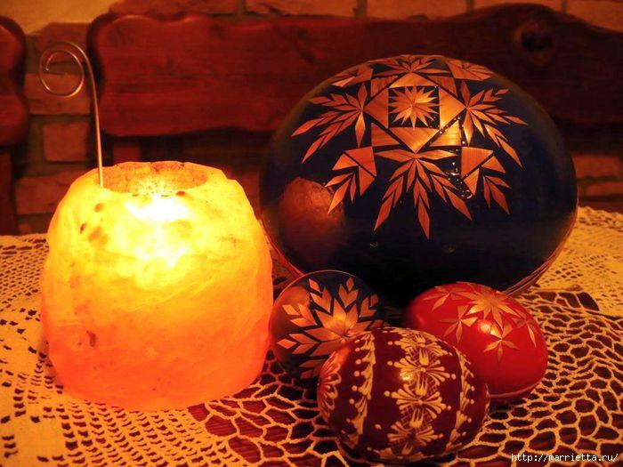 пасхальные яйца декор соломкой (16) (700x525, 202Kb)