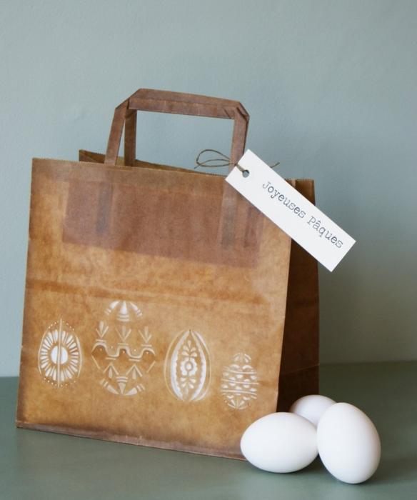 пасхальная сумочка из бумаги (2) (584x700, 210Kb)