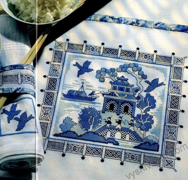 вышивка крестом китайский