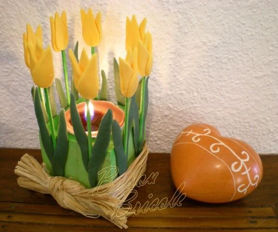 тюльпаны из холодного фарфора (575x480, 68Kb)