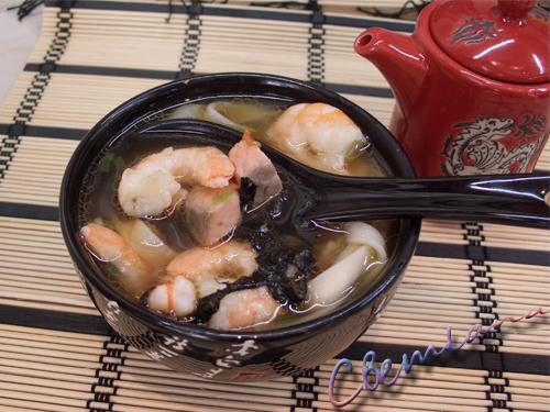 суп с креветками (500x375, 232Kb)