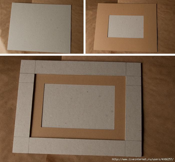 Мастер класс рамки из картона своими руками