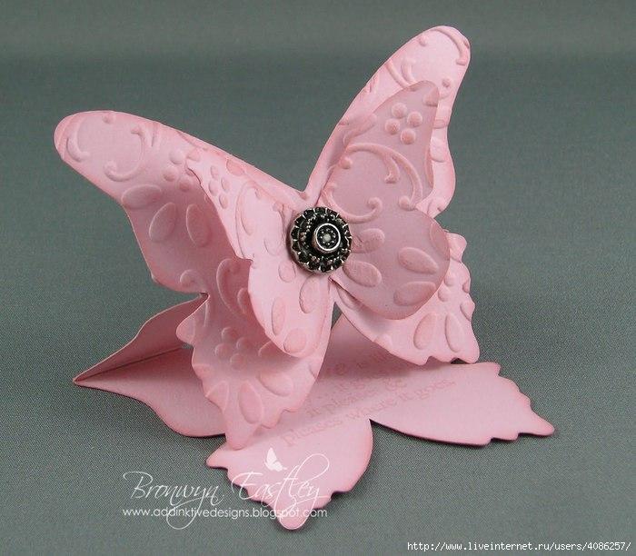 Бабочки объемные своими руками