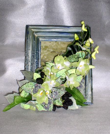 флористическая объемная композиция