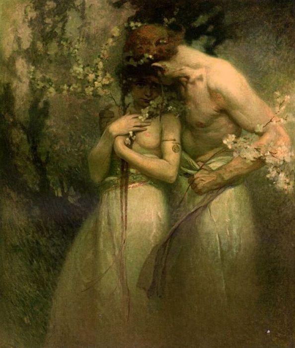 Alphonse_Maria_Mucha-Spring_night (594x700, 65Kb)