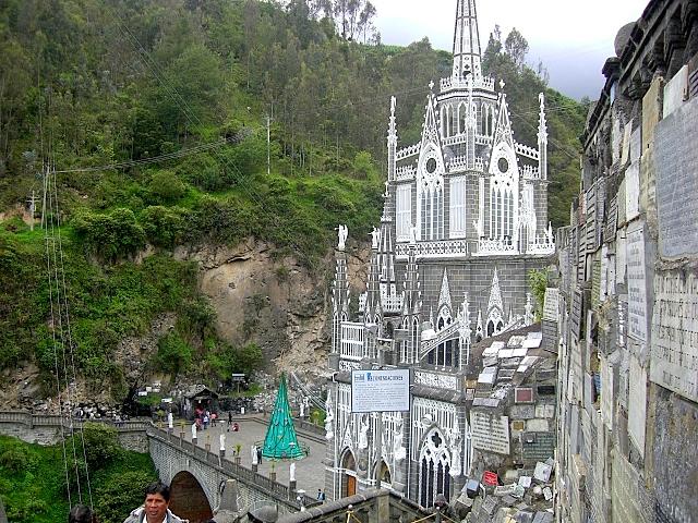Кафедральный собор Лас-Лахас в Колумбии 87081