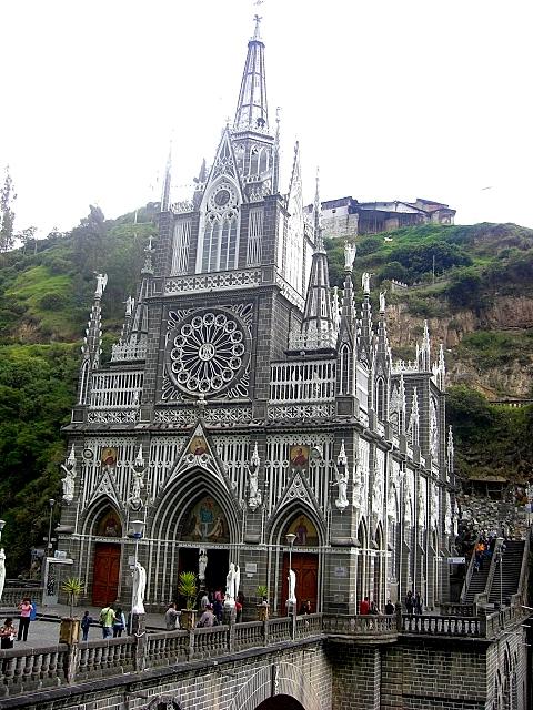 Кафедральный собор Лас-Лахас в Колумбии 11578