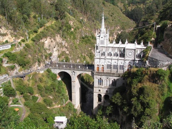 Кафедральный собор Лас-Лахас в Колумбии 33550
