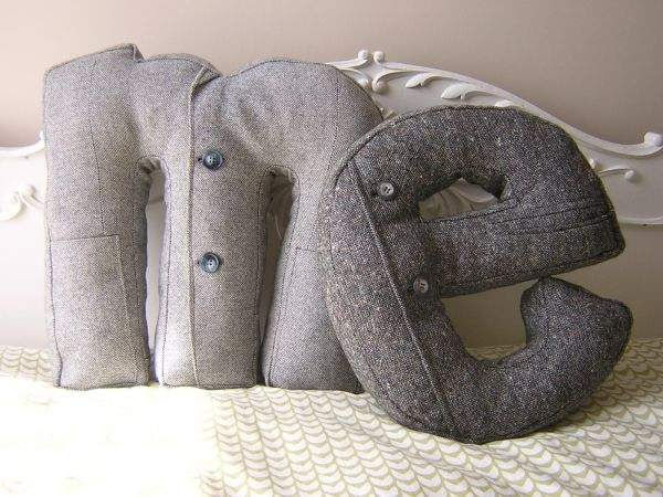 Стильные подушки своими руками фото