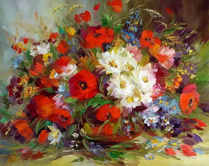 картинки красивые нарисованные красками