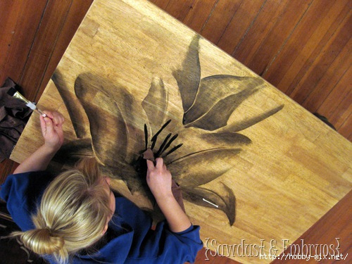 Using-Wood-Stain-to-make-ARTWORK-Saw (500x375, 142Kb)