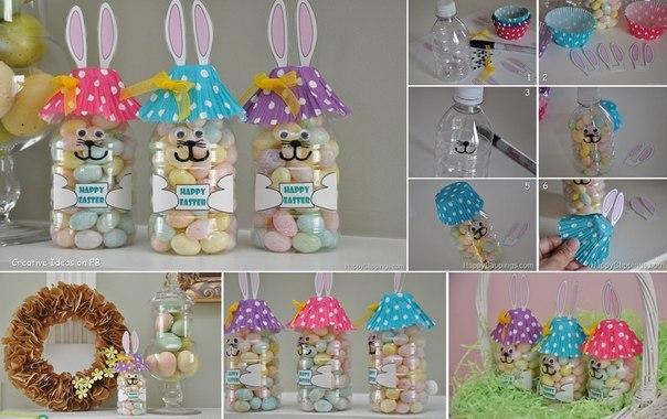 кролики конфеты пасха
