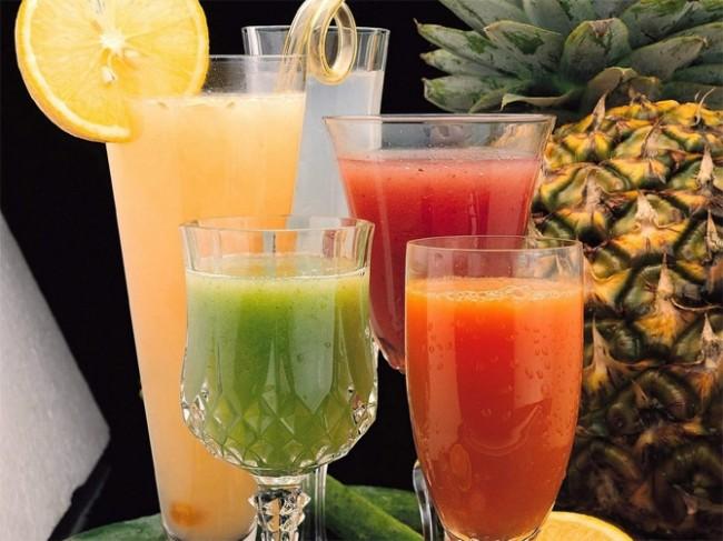 фрукты, соки.  (650x487, 81Kb)