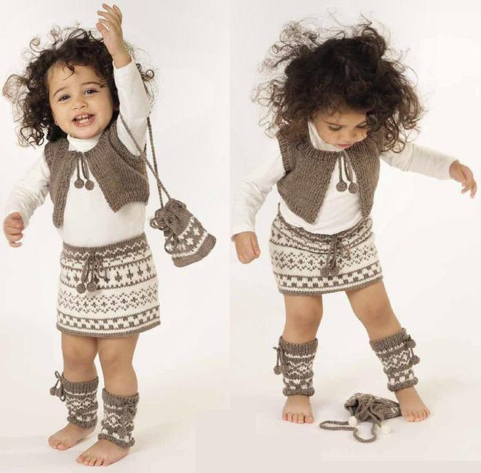 Модели для вязания детский в