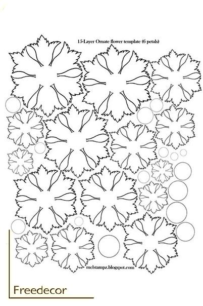 цветы из термопластика (9) (402x604, 152Kb)