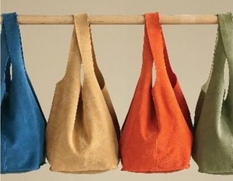 также выкройки пляжных сумок
