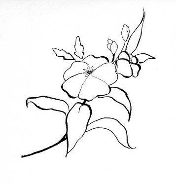 flower-branch (357x375, 14Kb)