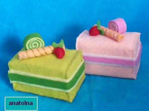 Поделки пирожные из губок своими руками