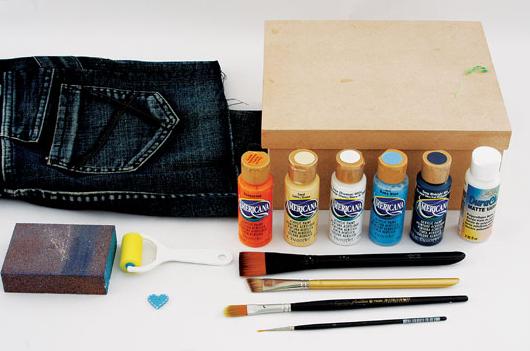 роспись коробки в джинсовом стиле (2) (530x351, 274Kb)