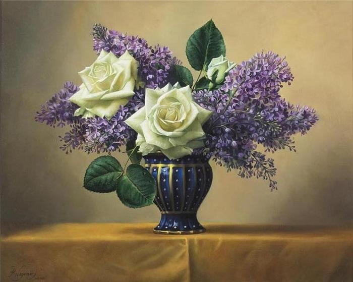 цветочные натюрморты Pieter Wagemans 10 (700x559, 97Kb)