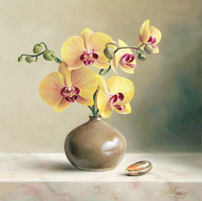 цветочные натюрморты Pieter Wagemans 12 (700x695, 116Kb)