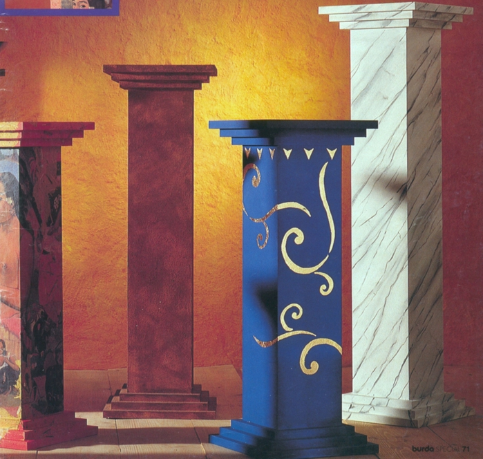 Как сделать греческую колонну