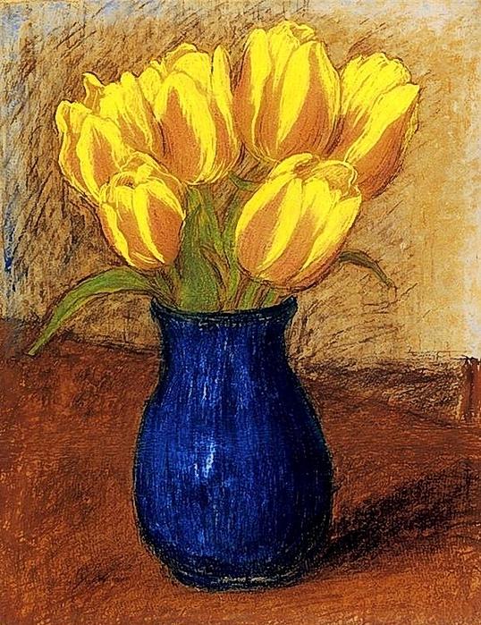 Rippl-Rónai József (1861 - 1927) Tulips (538x700, 385Kb)