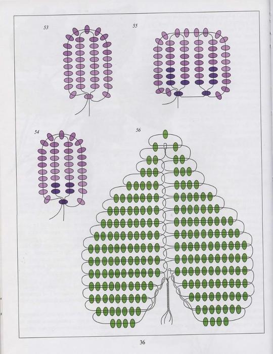 Как сделать листья для фиалки