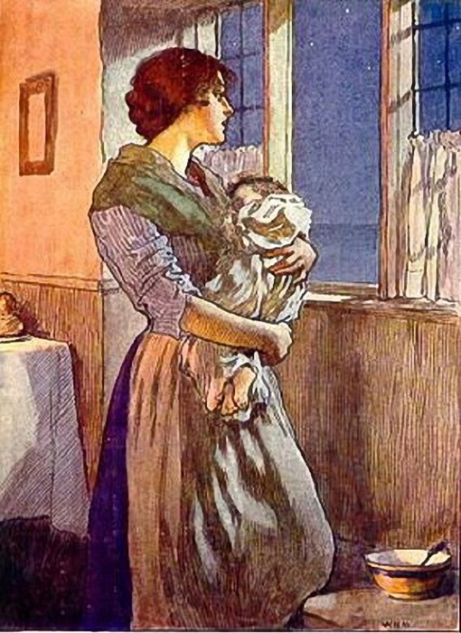 William Henry Margetson (1861 – 1940, English) (510x700, 147Kb)