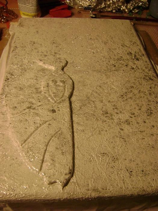 имитация чеканки - фольга и полимерная глина (5) (525x700, 324Kb)