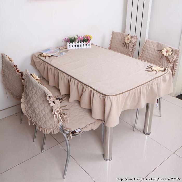 Скатерти на кухонный стол своими руками фото
