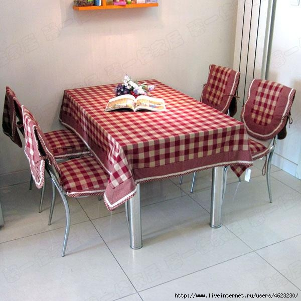 Чехлы на стулья для кухни фото своими руками