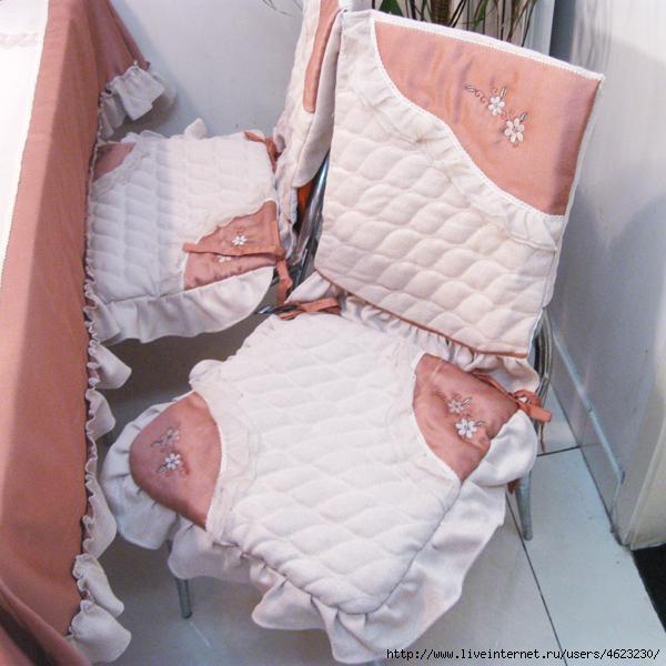 Чехлы для стульев выкройка