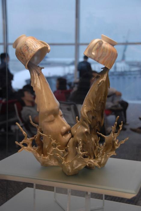 Johnson Tsang динамичные скульптуры фото (469x700, 166Kb)