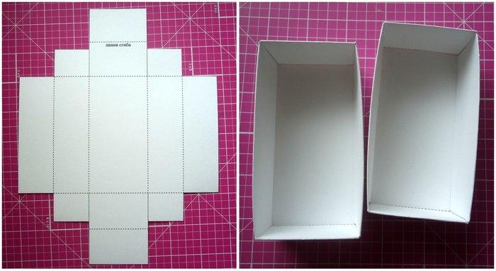 Как сделать коробку для чехлов 59