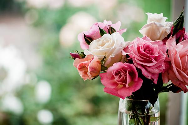 Фото с цветами как вставать