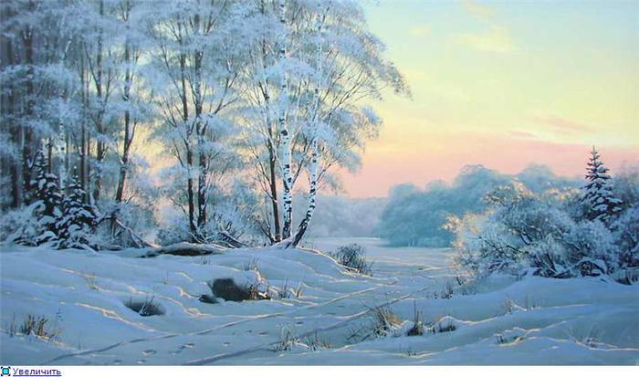 Зимнее утро читать