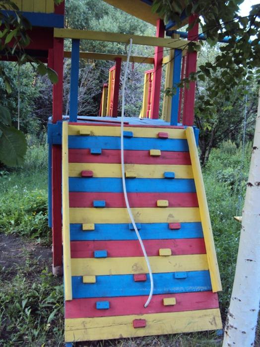Как сделать площадку для детей