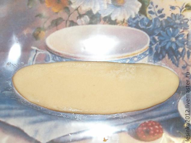 Как сделать из соленого теста тарелку