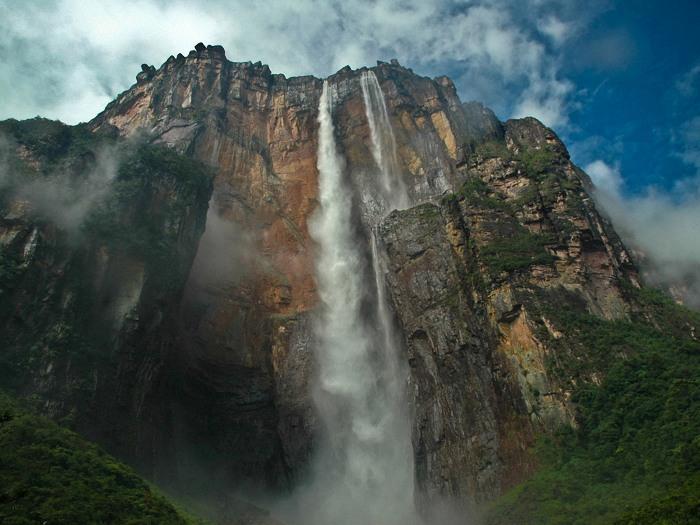 Второй по высоте водопад мира тугела