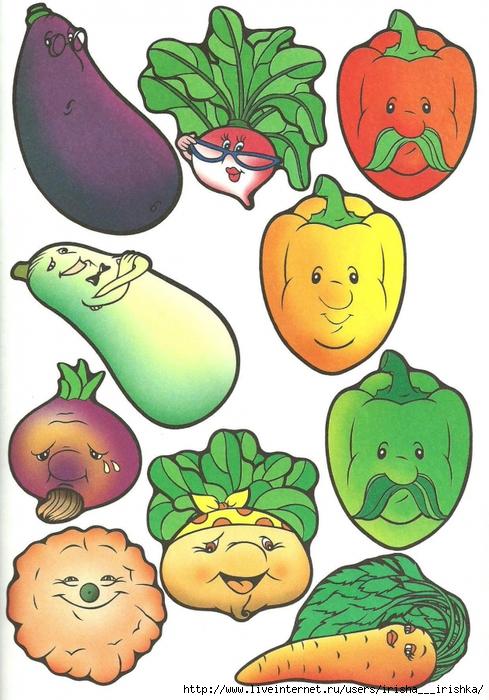 Поделки из овощей для детей 4 лет
