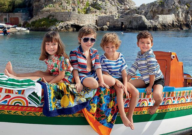 детская коллекция Dolce&Gabbana (640x451, 262Kb)