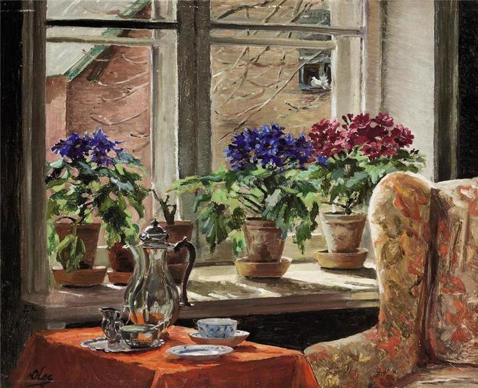 The Painting by Grand Duchess Olga Alexandrovna (1882 - 1960) (700x567, 90Kb)