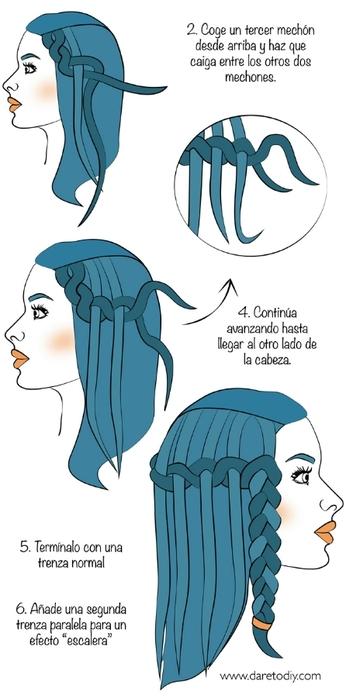 1 DIY tutorial peinado trenza waterfall-01 (353x700, 121Kb)
