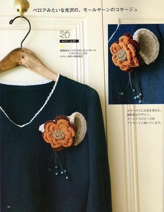 Вязанные аксессуары для одежды